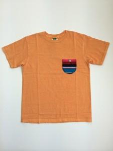 ショートスリーブ メキシカンサラペ ポケットTシャツ