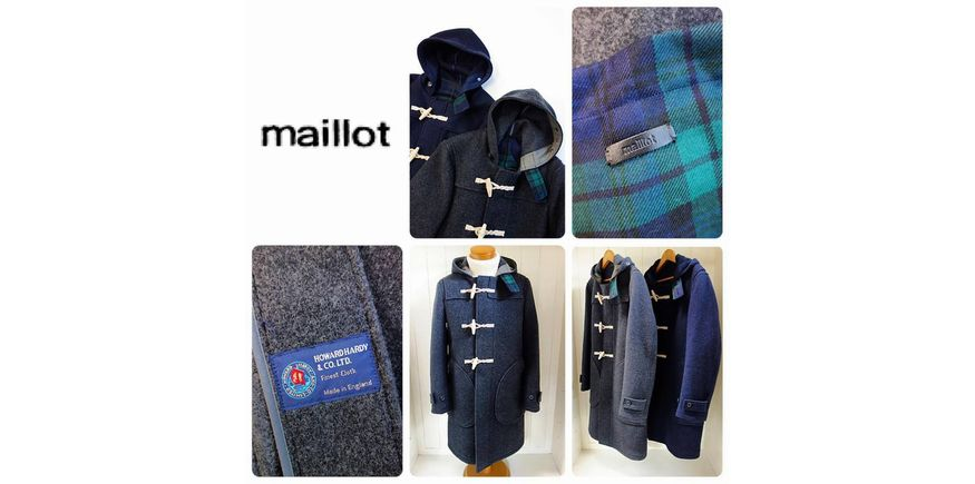 maillot navy duffle coat (ダッフルコート)