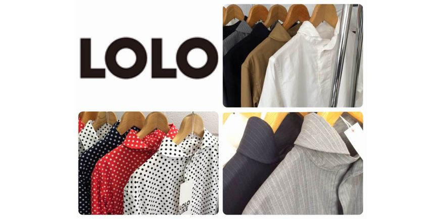 LOLO 定番コットンプルオーバーシャツ CAMEL