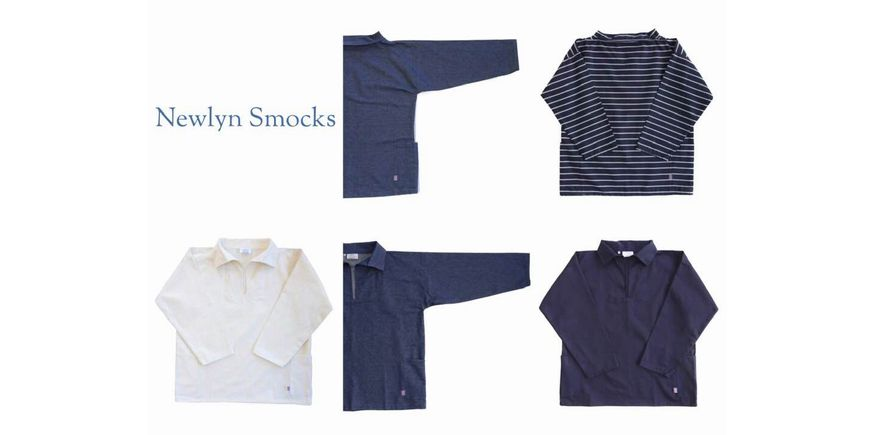 NEWLYN SMOCKS ROUND NECK SMOCKS(ラウンドネックスモック) DENIM